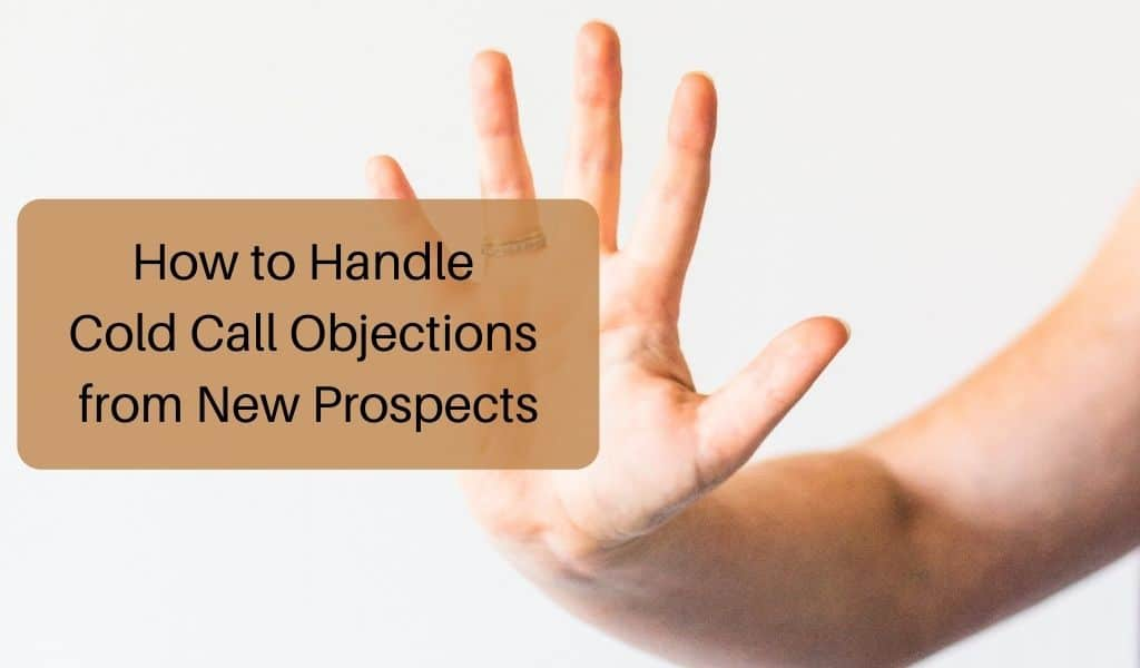cold call objections