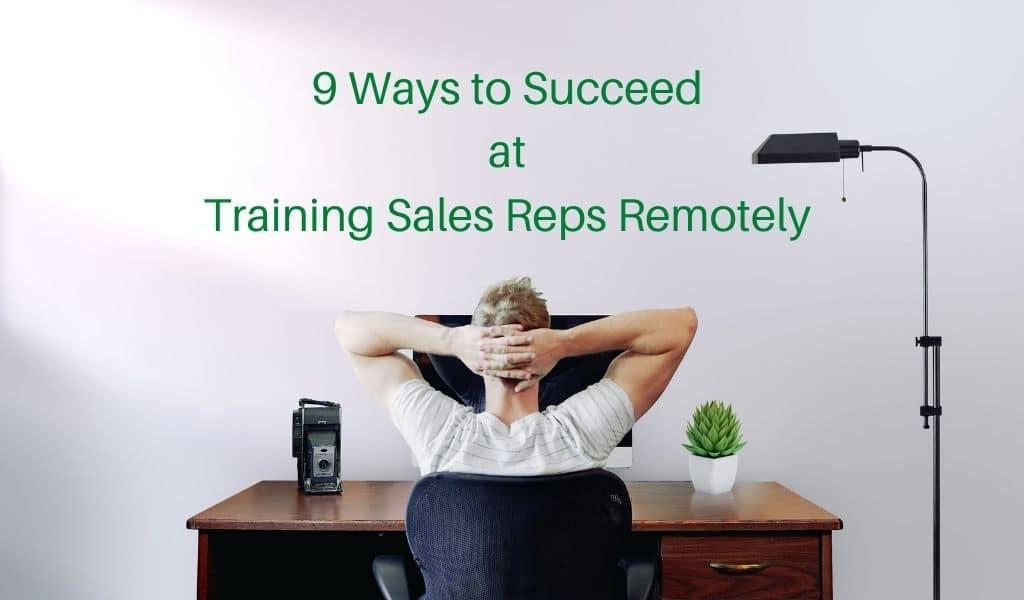 training sales reps