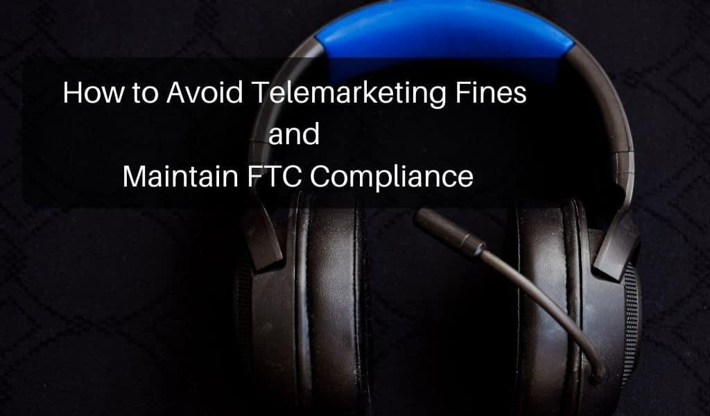 telemarketing fines